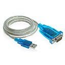 0.15m 0.492ft USB-RS línea de cable de 232 de envío gratis