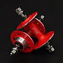 Alied 32 Holes Red Bearing Fixed Gear Front and Rear Hub