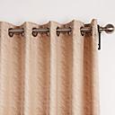 (Two Panels) Modern Minimalist Lines Pattern Energy Saving Curtain