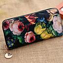 embrague de impresión floral de las mujeres n-pai (color al azar)
