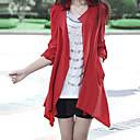 abrigo de gran tamaño ocasional estilo coreano Yiluo (rojo)