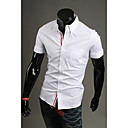 GMIG Men's Long Sleeve Slim 100% Cotton Causual Slim Shirts