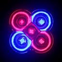 e27 5w (3red  2blue) espectro completo llevado crece la luz más pequeña para la floración (85-265v)