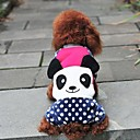 Pet Fashion Cute Panda Wave Point Four Feet Garments for Pets Dogs (Assorted Colors,Sizes)