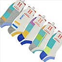 5Pairs(5 Kinds of Style Each Pair) Men's Sports Mesh Ship Stealth Cotton Socks
