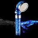 anión de alta presión / cloro-quitar la cabeza de ducha de mano de ahorro de agua