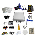 1 Gun Complete No Ink Tattoo Kit with Alloy Motor Tattoo Machine and Hp-2 Power Supply