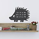 JiuBai™ Hedgehog Pattern Blackboard Wall Sticker Wall Decal