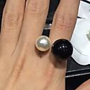 anillo de perlas de miki ajustable