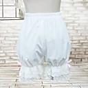 algodón blanco bloomers lolita clásico