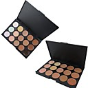15 Colors 3in1 Professional Natural Concealer/Foundation/Bronzer Makeup Cosmetic Palette(Assorted 2 Color)
