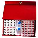 16mm juguetes de viaje mahjong los mini portátiles de acrílico