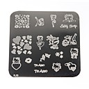 Womens  Nail Art Manicure Template Image Stamp Stamping Plates DIY Decors
