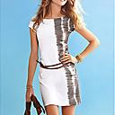 Bardian color del mini vestido del empalme de la Mujer
