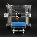 inone aurora más reciente reprap Prusa i3 impresora 3d 3 d impresión de inyección exclusivo kit de bricolaje moldeado Z605 de alta precisión
