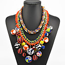 bohemia collar de bolas de múltiples colores de las mujeres de la eternidad