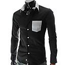 causal moda masculina Gezi camisa delgada