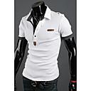 Nono Men Embroidery Short Sleeve Polo Shirt
