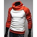una coincidencia de color suéter tejido de punto de moda de pescado