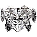 Moderno pared de luz de luz individual Diseño Crystal Exclusivo