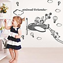 Wall Stickers Wall Decals, Modern Cartoon airplane Park PVC Wall Stickers