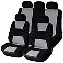9 piezas de serie del asiento del coche cubre accesorios de automóvil de diseño seat.simple coche material de poliéster de protección de ajuste