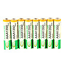 1350mah bty ni-mh 8pcs batería aaa 1.3v recargable