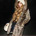 abrigo de leopardo algodón vera 198 amarillo