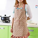 cocina colorido antiincrustante textiles delantales (1pcs color al azar)