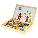 rompecabezas magnético animales juguetes educativos de madera