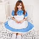 cielo caliente chica azul Terylene vestido de dama uniforme
