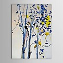 Hand Painted Oil Painting Landscape Watercolor Trees with Stretched Frame