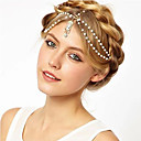 banda de diamantes de la moda retro de pelo lindo