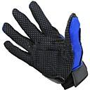 1 par de poliéster guantes de carreras pro-bici moto motocicleta dedos completos