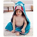 baby girl boy vistiendo splash bata de baño toalla con capucha del abrigo bata 0-6 años búho