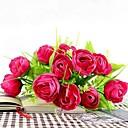 10 Cabeza de flor color de rosa de simulación brote de rocío