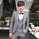 Mens Formal Suit(Include Outerwear,Vest And Pants)