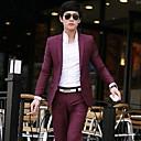 CAIHUA™ Men's Temperament Slim Stylish Two-Piece Suits  (Trousers  Coat)