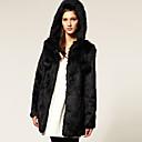 kate solo abrigo de piel de imitación de la moda de las mujeres