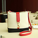 Mandy Womens Fashionable Color Matching Crossbody Bag