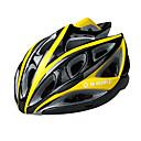 INBIKE unisex 22 respiraderos de pc  EPS negras y amarillas wearable integralmente moldeado por el ciclismo casco (57-62cm)