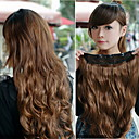 Kinky Curl Five Clips in Hair Extension 20Inch  1Pc/Lot