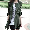 abrigo de gran tamaño ocasional estilo coreano Yiluo (verde)