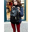 lentejuelas estilo coreano de la PU mochila de cuero de las nuevas mujeres de portabilidad de 25  40  15cm