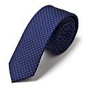 5 cm de ancho corbata de seda azul
