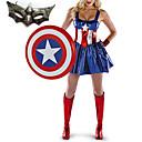 america american dream atrevido traje de cosplay de lujo de la mujer con la máscara
