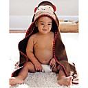 baby girl boy vistiendo splash bata de baño toalla con capucha del abrigo bata 0-6 años mono