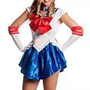 sailor moon azul y blanco uniforme de marinero spandex (un tamaño)