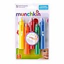 6 empacar nuevos crayones de baño del bebé para los niños juguetes educativos divertidos