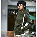 coreano largo de color equipado outwear sólido de las mujeres nuoweisi